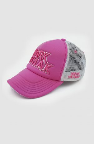 Mark With A K – Break The Rules Pink Trucker Cap